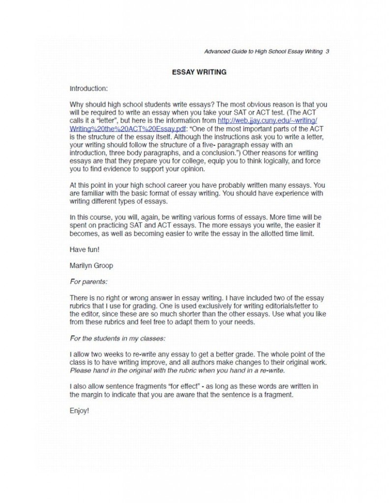 Essay excerpts how to write a campaign ad