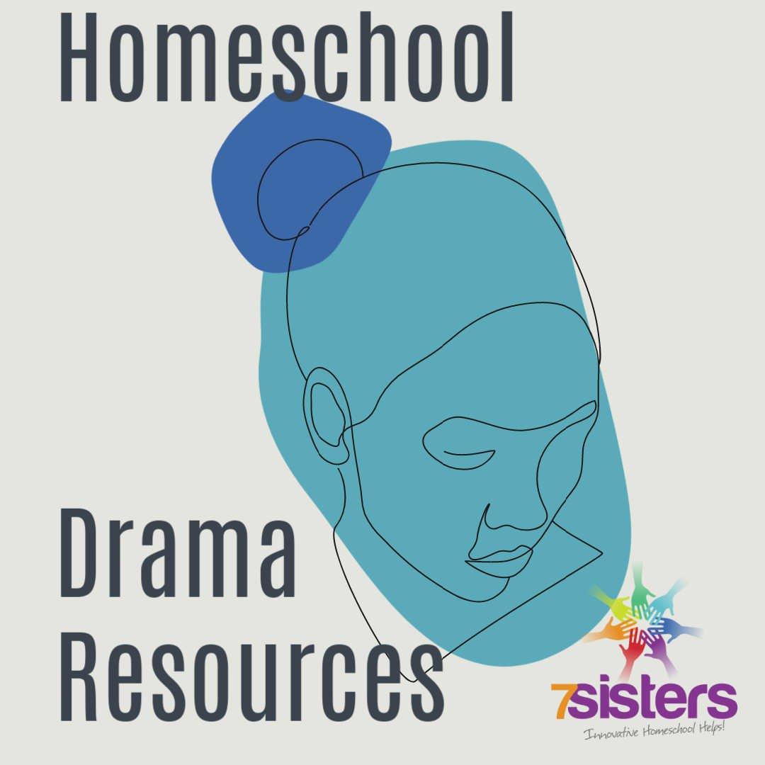 homeschool drama resources