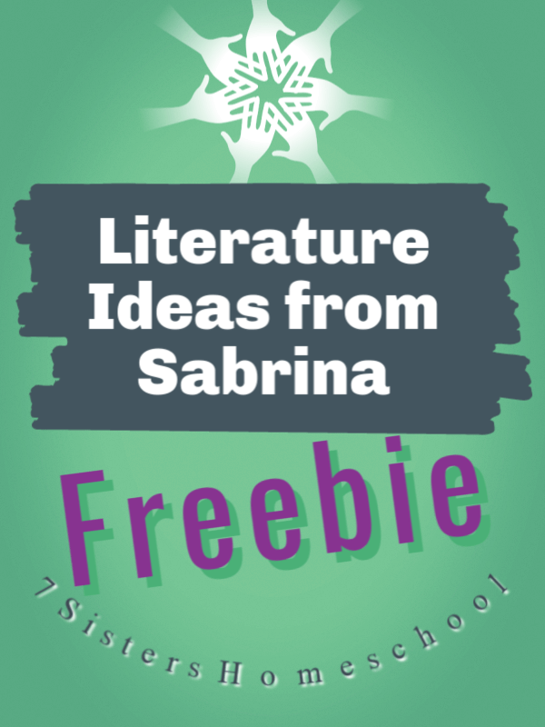 Literature Ideas from Sabrina Justison's Workshop. Freebie with tips and how-tos for teaching Literature to teens.