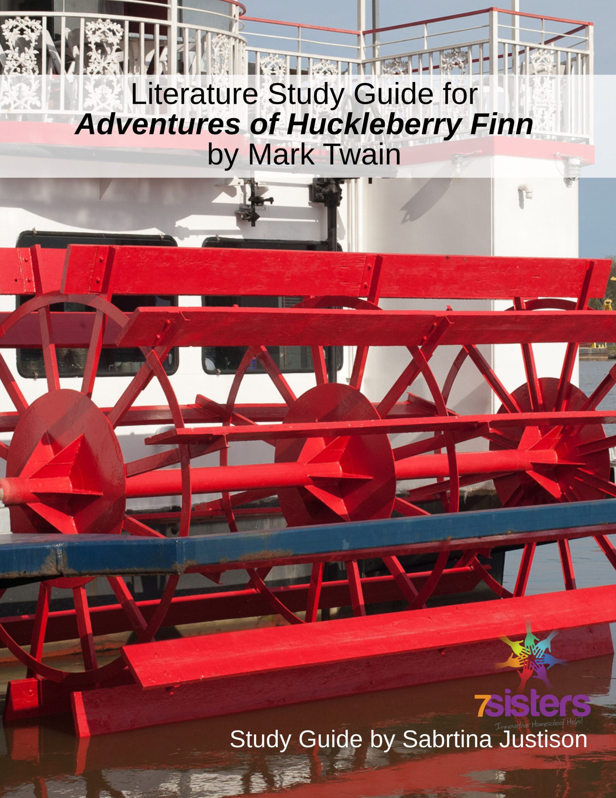 The Adventures of Huckleberry Finn Study Guide. Not boring, no-busywork, don't-kill-the-book literature study guide for homeschool teens.