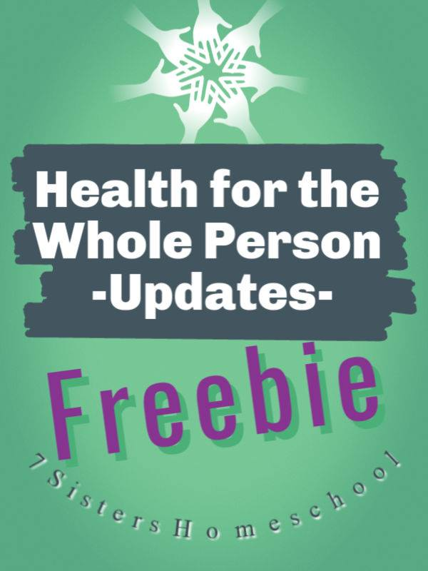 Health for the Whole Person - Updates. We periodically update the links for those in the text: High School Health for the Whole Person.