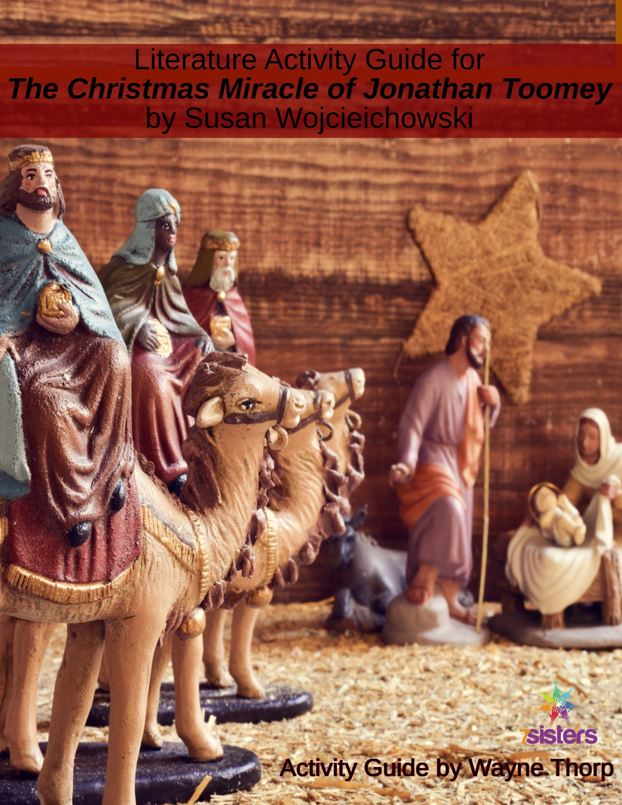 Literature Activity Guide for The Christmas Miracle of Jonathan Toomey