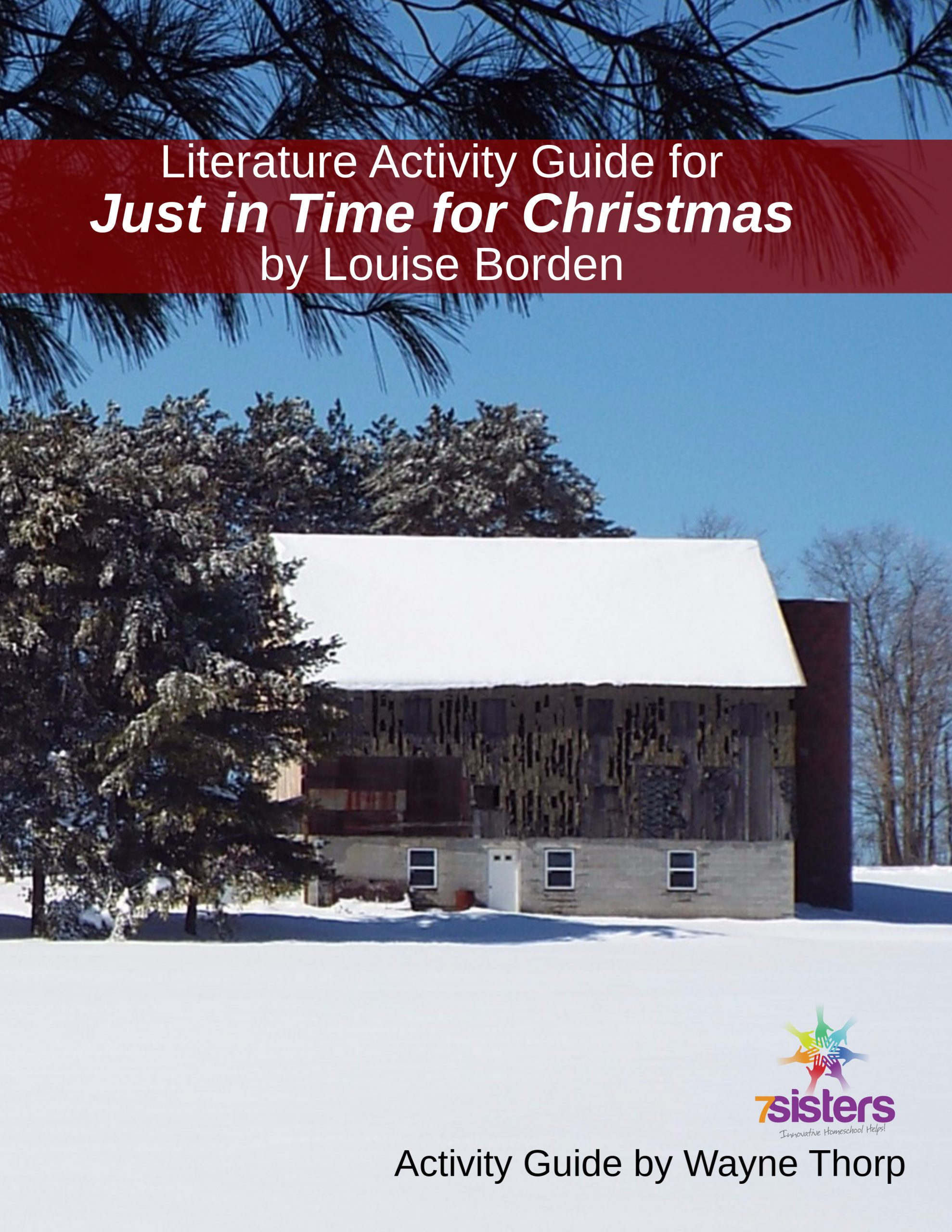 Just in Time for Christmas Elementary Literature Activity Guide
