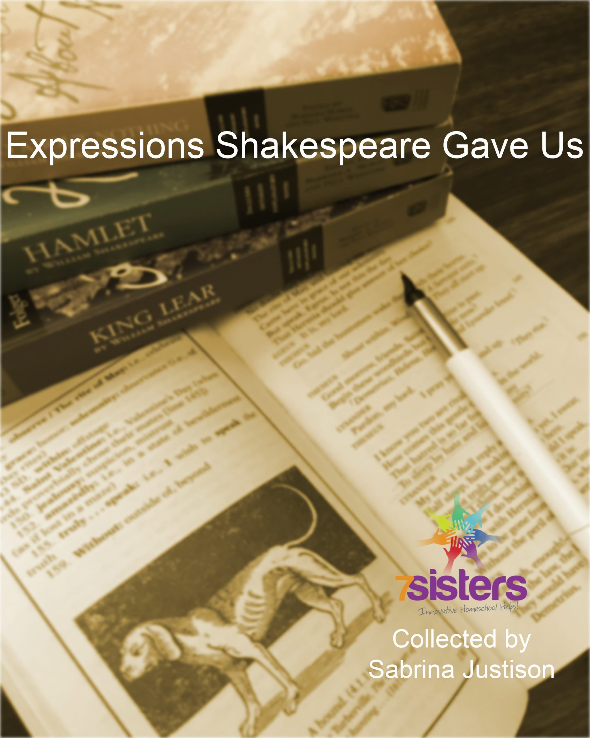 Expressions Shakespeare Gave Us FREEBIE
