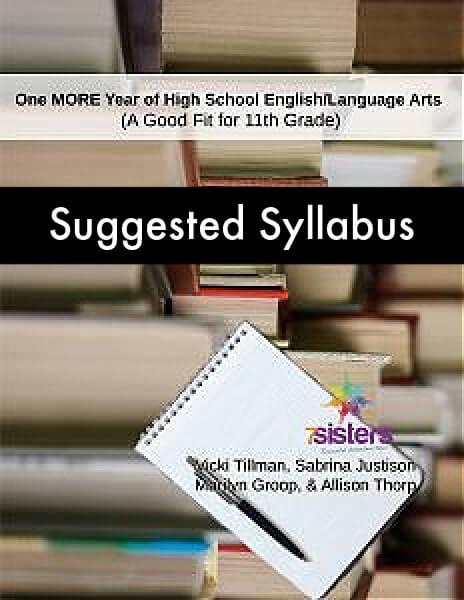 Syllabus One More Year ELA 11